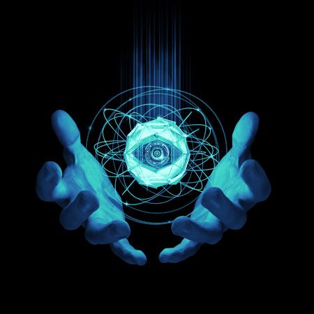 バーチャル ・ リアリティ チェック人工知能概念の 3 D レンダリング