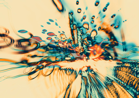 digital art of modern abstract motion,colorful blurred blots