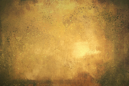 rough: digital painting of gold texture background on the basis of paint