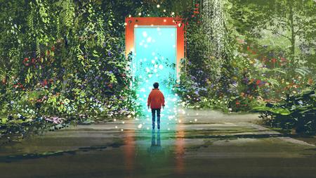 magiczna brama w inne miejsce