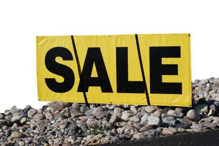 extracted: Sale sign extracted.