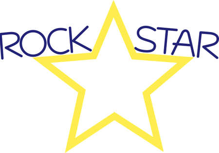 sports gear: This perfectly shaped star is the perfect accent for sports gear and apparel.  Change the applique fabric to create the perfect look.