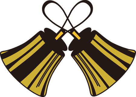 Handbells are example of everyone working together to create something amazing.  Create a special shirt for your director or handbell team members.  Add your group name for a personal touch. 向量圖像