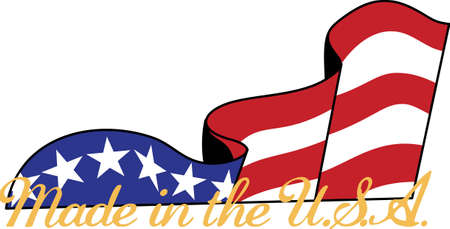 sliver: An artistic sliver of a flag carries a message fit for any patriotic celebration.  Great tee shirt art.