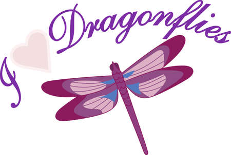 own: Weve never come across a cuter little bug!  This pretty dragonfly brings its own colorful beauty to your projects - and maybe good luck too!
