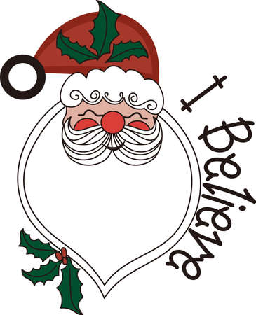 Our Santa applique is something special indeed!  Applique he beard in a flocked fabric for an amazing creation!