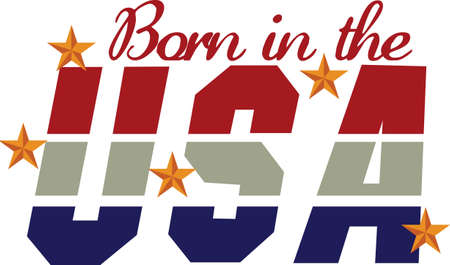 eye catcher: Celebrate America with this patriotic design that is sure to be an eye catcher.  Love it on July 4 tee shirts. Illustration