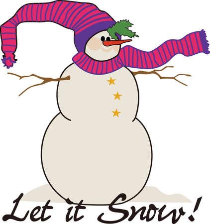 ユニークな休日の魅惑は降雪と着いた。 この装飾された特別なホリーの雪だるまは、休日アパレルを飾るに最適です。 写真素材 - 51207210