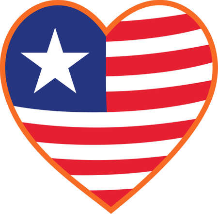 july 4: Show some love and patriotism with this artistic take on stars and stripes.  Super fun on tee shirts or July 4 decoration.