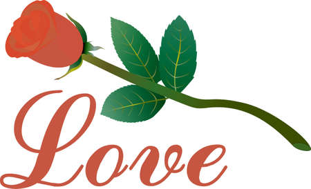 says: A single rose says so much.  Add some love or just a bit of pretty to your projects with this long stemmed beauty.