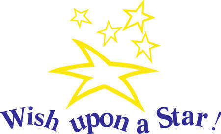 Be a shining star and sparkle everywhere you go.  Make it happen with these shining stars on shirts, bags or jackets!  Perfect for star athletes! Illusztráció