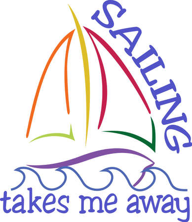 sail boats: Sail boats are the best boats!  Create a sailor jacket that proudly proclaims the skill of a sailor.