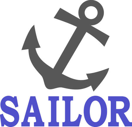 fixture: Anchors away!  This anchor makes an eye catching nautical creation for the boating crowd.  Perfect for boat dcor!