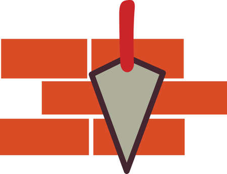 scraper: From stones to bricks, you have to have a talented mason to make it all come together.  Create a business card or put this art on a shirt.  Perfect fit for the mason.