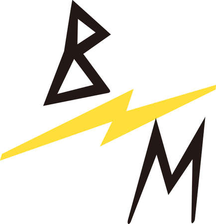 The true race fan knows the lightning bolt means fast.  Its a special kind of language that is also a brilliant apparel decoration for race day.