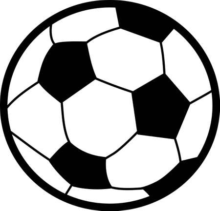 Soccer is an active sport taking years to master.  Add this image to a towel for your favorite player.  They will love it! Illusztráció