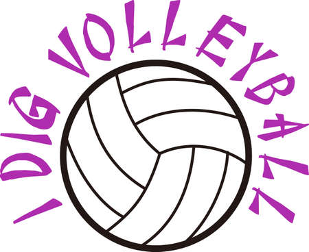 teamsport: Volleyball is an active sport taking years to master.  Add this image to a towel for your favorite player.  They will love it!