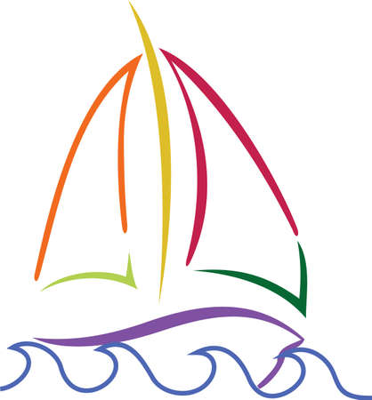 Sail boats are the best boats!  Create a sailor gear that proudly proclaims the skill of a sailor.