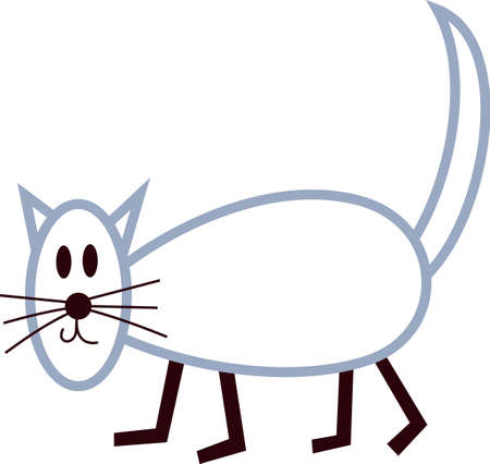 group of pets: We love stick people families!  Our kitty family member is just what you need to complete the group.  These sweet little people and their pets are absolutely precious.