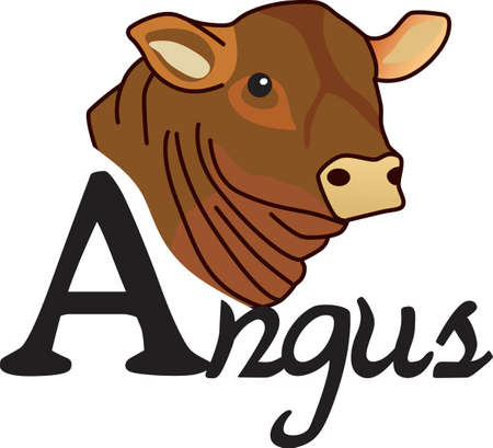 107 Angus Cattle Stock Illustrations, Cliparts And Royalty Free ...