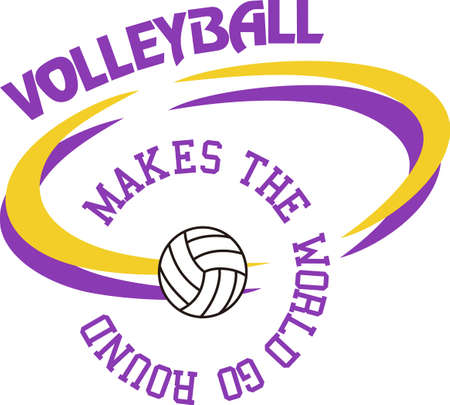 basketballs: Volleyball is a fun sport taking years to master.  Add this image to a towel for your favorite player.  They will love it!