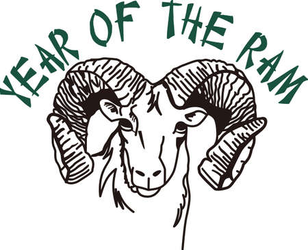 script writing: Go, Fight, Win - Go Rams! Wear Rams mascot proudly on your game day gear!
