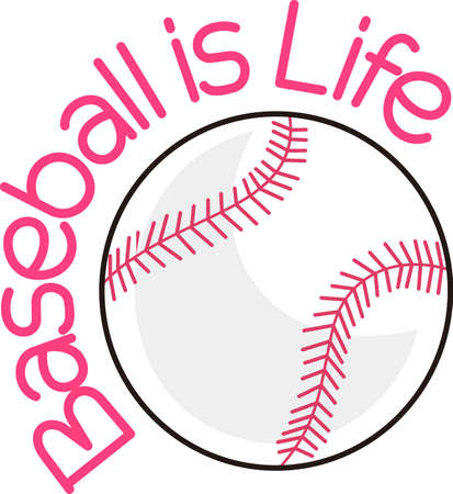Softball is a fun sport taking years to master.  Add this image to a towel for your favorite player.  They will love it!