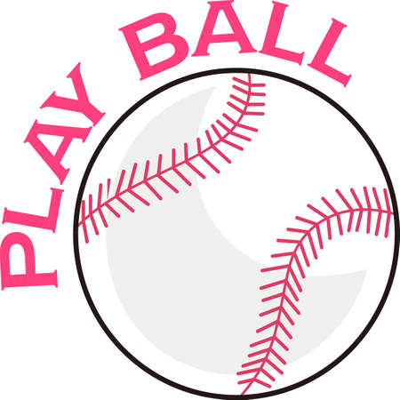 hardball: Softball is a fun sport taking years to master.  Add this image to a towel for your favorite player.  They will love it!