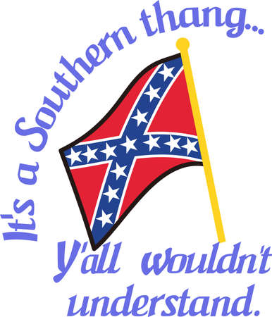 confederacy: Decorate with a symbol of the Confederacy.  Perfect Southern charm for hats and caps.