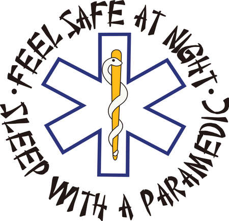 recognized: The star of life is widely recognized as a symbol for emergency medical response.  Perfect for scrub shirt embellishment.