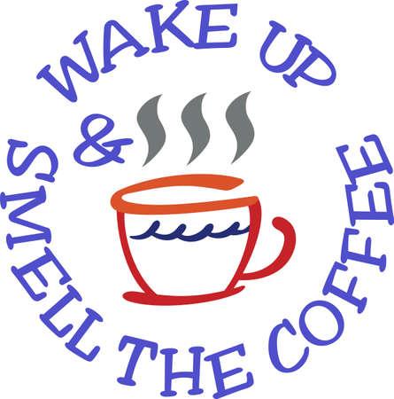 아침에 커피를 마시지 않고서는 적당한 출발을 할 수 없습니다. 우리의 커피 컵은 아침에 약간의 격려를 당신의 부엌에 추가합니다. 일러스트