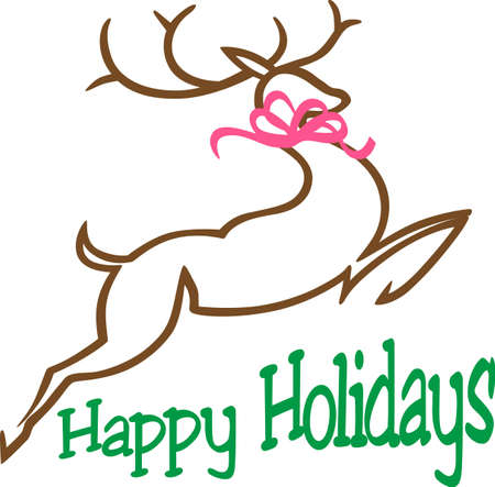 adds: Elegant reindeer create a touch of festive class.  This lovely reindeer adds holiday charm to your holiday home.