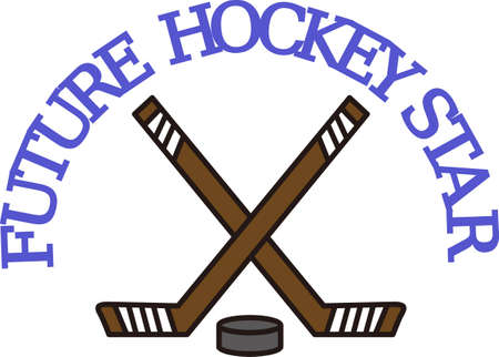 icehockey: Hockey is a fun sport taking years to master.  Add this image to a towel for your favorite player.  They will love it! Illustration