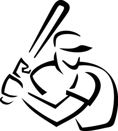 batters: Baseball is a fun sport taking years to master.  Add this image to a towel for your favorite player.  They will love it!