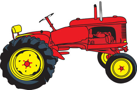 satisfy: The classic farm truck will satisfy vehicle-lovers of any age!  A great design for T-shirts and sweatshirts.