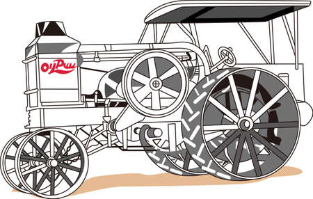 satisfy: The classic truck will satisfy vehicle-lovers of any age!  A great design for T-shirts and sweatshirts. Illustration