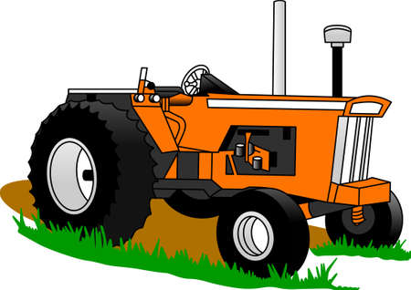 The classic truck will satisfy vehicle-lovers of any age!  A great design for T-shirts and sweatshirts. Illustration