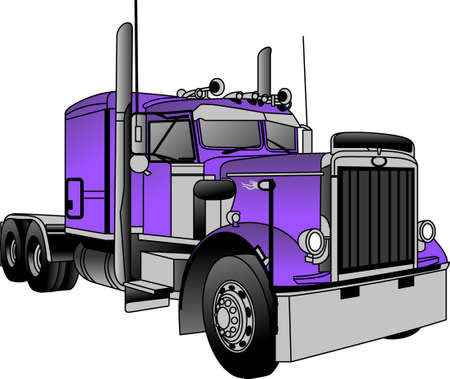 The classic truck will satisfy vehicle-lovers of any age!  A great design for T-shirts and sweatshirts. Illusztráció