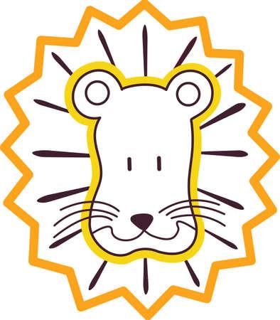 사자는 항상 힘과 권력의 상징이었다. 당신의 실내 프로젝트에이 디자인과 가까운이 장엄한 고양이를 체험!