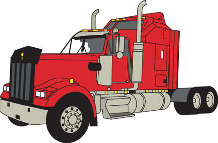 hauler: Does your little tyke dream of driving a tractor around If they didnt before, they will now!   A great design on t-shirts, sweatshirts and more. Illustration