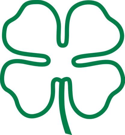 Goede tijden, goede vrienden, een goede gezondheid te youand het geluk van de Ieren in alles wat je doet! Dit ontwerp is perfect voor uw vakantie projecten! Stock Illustratie