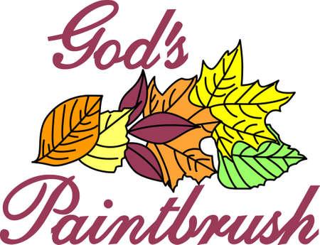 季節は変わる。 秋秋プロジェクトでこの紅葉のデザインの素晴らしさを体験します。  イラスト・ベクター素材