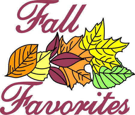 Seasons change.  Experience the splendor of autumn with this foliage design on  your fall projects.