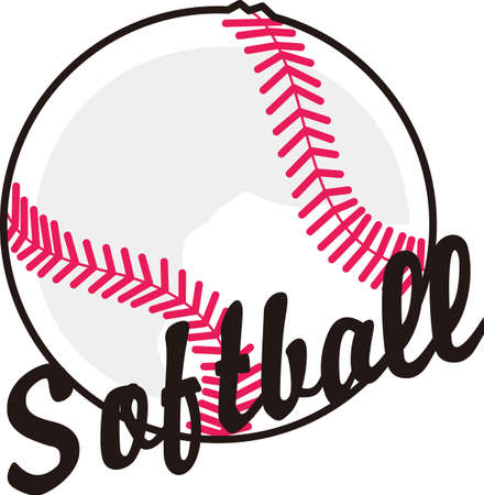 love very: Softball is a very active sport taking years to master.  Give this unique gift to your favorite player.  They  will love it!