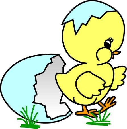 새로운 아기 병아리는 봄이 가져 오는 새로운 것이 무엇인지 생각하게합니다. 이 작은 귀염둥이는 당신이 당신의 작은 하나를위한 부활절 dcor를 만드