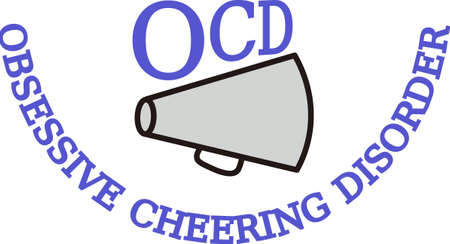 Cheer leading is important to the team.  Add this design to jackets for the whole squad.  They  will love it!
