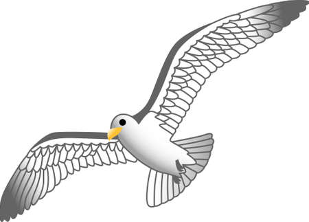 skimmer: If you like everything gulls, you will love this design on your indoor projects.