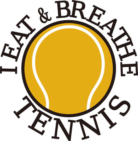tennisball: Tennis is a fun sport taking years to master.  Add this image to a towel for your favorite player.  They will love it!