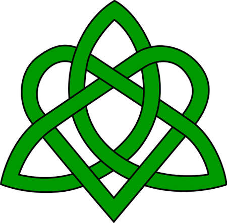 visually: A lovely Trinity knot makes a visually stunning statement on your Celtic creations.  Solid, clear lines make this design perfect for vinyl cuts