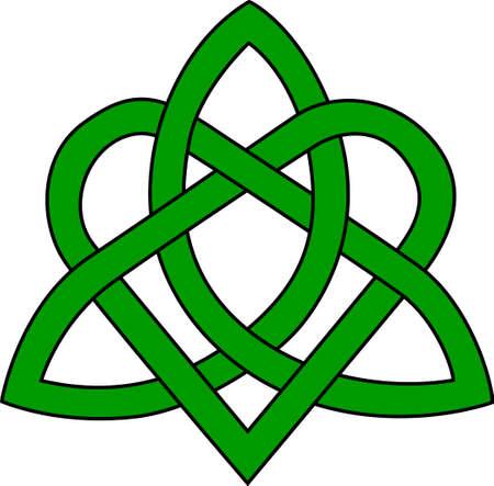 Een mooie Trinity knoop maakt een visueel verbluffende verklaring over uw Celtic creaties. Solide, duidelijke lijnen maken dit ontwerp perfect voor vinyl bezuinigingen